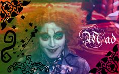 Mad Hatter Wallpaper - Mad - alice-in-wonderland-2010 Wallpaper