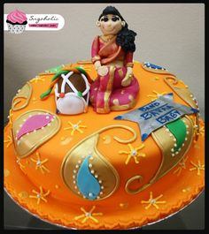 Indian baby shower | Indian themed Baby Shower Cake — Baby Shower
