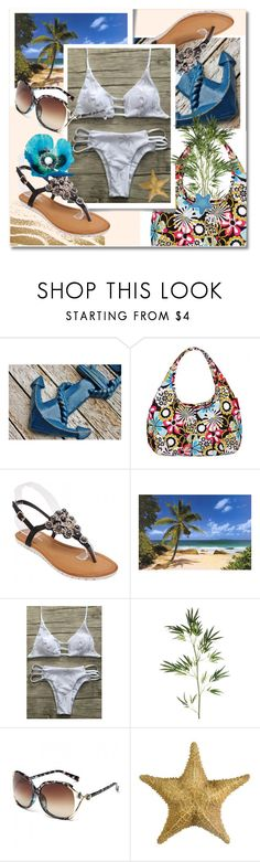 """""""TwinkleDeals: Bikini"""" by andrea2andare ❤ liked on Polyvore featuring Pier 1 Imports"""