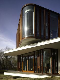 La villa Nefkens à Wageningen aux Pays-Bas