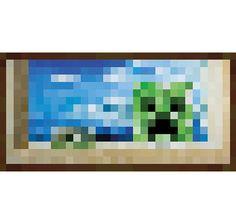 Minecraft Poster Windows (Kunstdruck, 270g Papier). Hier bei www.closeup.de