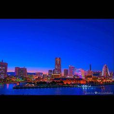 Instagram【taka186cm】さんの写真をピンしています。 《#一眼 #一眼レフ #camera #カメラ #ファインダー越しの私の世界 #写真好きな人と繋がりたい #写真撮ってる人と繋がりたい #nikon #ニコン #d750  #写真部  #風景写真 #photo  #photography #横浜 #ヨコハマ #yokohama #みなとみらい #大桟橋 #大さん橋 #おおさんばし #夜景 #nightview》