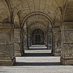Arcos en el Monasterio de el Escorial
