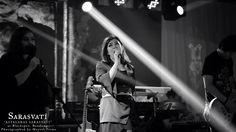 SARASVATI on stage at Blackspot, Bandung