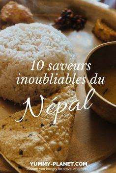 De l'incontournable Dal Baht au réconfortant Lemon Ginger Honey, voici 10 spécialités et saveurs découvertes lors de notre voyage au Népal. Voyage Nepal, Nepal People, Nepal Food, Nepal Culture, Road Trip, Voici, Snacks, Make It Yourself, Eat