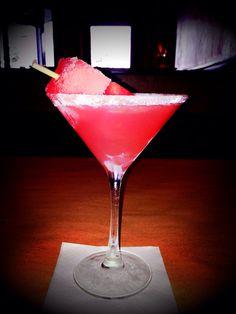 Watermelon Martini...Bone Fish Grill
