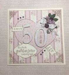 Bibbi's: Bursdagkort til en 50 åring