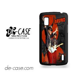 Bruno-Mars For Google Nexus 4 Case Phone Case Gift Present YO