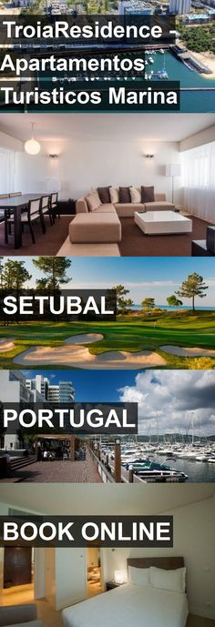 Hotel TroiaResidence - Apartamentos Turisticos Marina in Setubal, Portugal. For more information, photos, reviews and best prices please follow the link. #Portugal #Setubal #travel #vacation #hotel
