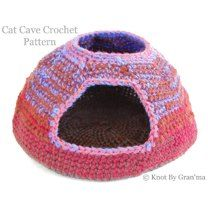 Cat Cave Crochet Pattern