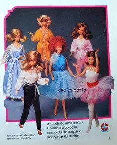 Barbie Estrela de 1983 - Brazil