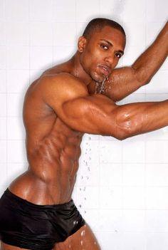 Ebony Hunk Hot Teasing