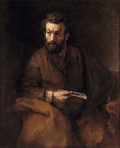 88. De apostel Bartholomeüs - 1657, Rembrandt Harmensz. van Rijn