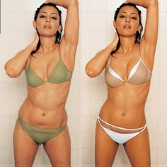 """Laila Rouass:Before and After. Photo shop.  So-girls, ladies and women, nobody's body is perfect! This is a big part of self image problems, at ALL ages and very much so in young adults. It's saddens me for many reasons and especially because so many people feel they have to """"look perfect"""" like these stars. And they are no different then someone that isn't famous.  There's nothing wrong with wanting to look good!! But there's something wrong with society and how it has gotten into so many…"""
