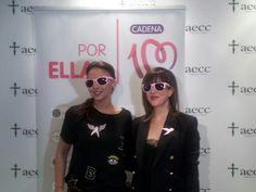 Chenoa y Nena Daconte en la rueda de prensa presentando #ColorEsperanza, himno del concierto #Cadena100PorEllas