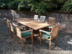Harrogate Teak Garden Furniture Set | Hunters of Yorkshire