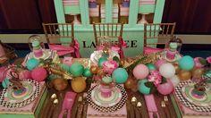 Laduree Themed party by www.settingthemood.biz
