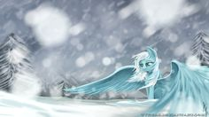 Fan Art of Snowdrop for fans of My Little Pony Friendship is Magic All My Little Pony, My Little Pony Friendship, Mlp Comics, Mlp Fan Art, Little Poney, Cute Chibi, Fluttershy, Animation, Magic