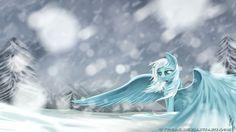 Fan Art of Snowdrop for fans of My Little Pony Friendship is Magic