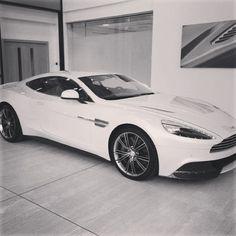 White Angel Aston Martin Vanquish