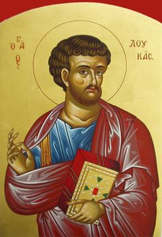 st luke-Patron Saint of artists