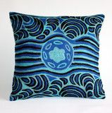 Aboriginal design: 'Tali-Sandhills' by Karen Kulyuru  from AUS$36.00  www.takeyourseat.com.au