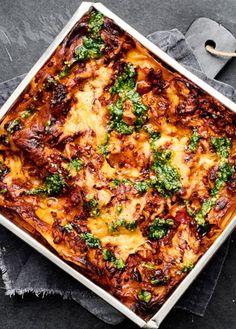 Vegetarian Buffet, Vegetarian Times, Vegetarian Cooking, Halloumi, Lunch Recipes, Vegan Recipes, Bastilla, Food Crush, Swedish Recipes