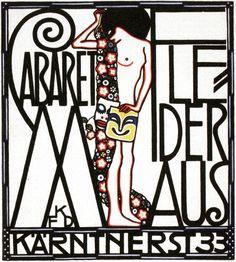 1907 AUTRICHE CABARET