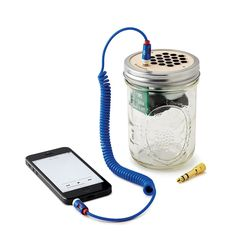This mini speaker is totally self-contained, so you can bring it on-the-go and hook up your guitar or mp3 player.