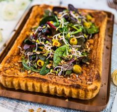 Vegogratäng med grönkål, fetaost och soltorkade tomater - Landleys Kök Feta, Tacos, Ethnic Recipes, Desserts, Tailgate Desserts, Deserts, Dessert, Food Deserts