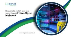 So many are switching to a more secured network connection. Why is that happening? Here are the features of fibre-optics and the reason for its popularity. Resume Work, Super Speed, Fiber Optic, Connection, Shit Happens