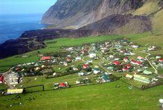 Tristan da Cunha - Maailman etäisin paikka, jossa asuu noin 260 ihmistä.