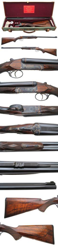 Griffin & Howe Rifle Details Page  W.J. Jeffery - Double Rifle - .500 NE caliber - $46,500.00   Classic double rifle in .500NE w/gorgeous case!