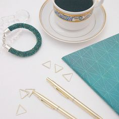 beading, toho, coffee, proejct, handmade
