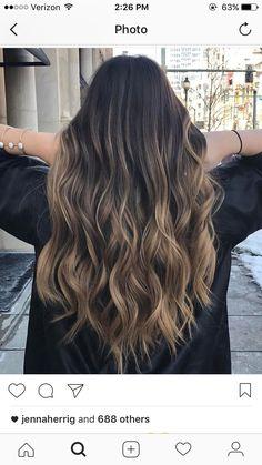 Brown Hair Balayage, Brown Blonde Hair, Light Brown Hair, Hair Color Balayage, Light Hair, Hair Color For Black Hair, Brunette Hair, Hair Highlights, Summer Hair Color For Brunettes