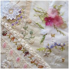 Embroidery for Crazy Quilting
