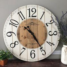 Articoli simili a Wood Geometry wall clock, Rustic, Clock of distressed wood su Etsy Wall Clock Wooden, Rustic Wall Clocks, Unique Wall Clocks, Rustic Walls, Wooden Walls, Big Clocks, Large Clock, Gold Wall, Oversized Clocks