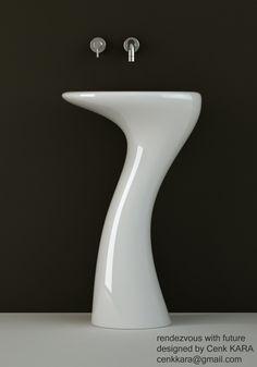 Bathroom Sink Design By Cenk Kara At Coroflotcom Washbasin - Cool fruit inspired bathroom sinks lemon by cenk kara