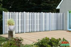Modern, Deck, Outdoor Structures, Outdoor Decor, Home Decor, Split Rail Fence, Architecture, Trendy Tree, Decoration Home
