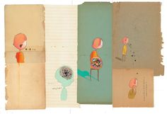 Illustration from 'The Incredible Book Eating Boy' by Oliver Jeffers