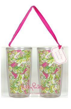 Lilly Pulitzer® Tumblers (Set of 2)
