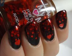Pretty! I would paint my nails if I found this polish.