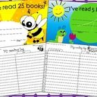 This freebie includes the following: -I've read 5 books caterpillar reading certificate  -I've read 15 books ladybug reading certificate -I've read...