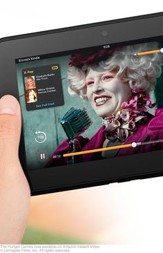 "Kindle Fire HD - Most Advanced 7"" Tablet - Only $199 at http://amzn.to/PV7a6R"
