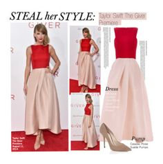 Steal Her Style-Taylor Swift The Giver Premiere Taylor Swift Style, Feminine Dress, Ootd Fashion, Her Style, Celebrity Style, Cool Outfits, Autumn Fashion, Prom Dresses, Clothes For Women