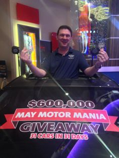 James B. is #winning! He just claimed his new car. We're giving away 31 Cars in 31 Days in May. #Rocksino #Giveaway