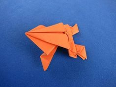 Origami Frog: Come Fare una Rana di Carta che Salta http://www.comefaremania.it/origami-frog-rana-carta-che-salta/ #comefare #origami #rana