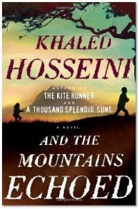 And the Mountains Echoed by Khaled Hosseini: The bestselling author of The Kite Runner and A Thousand Splendid Suns, has written a novel about how we love family and how the choices we make resonate through generations. In this tale, Hosseini explores the ways families nurture, betray and sacrifice for one another through 60 years of history in an Afghan family.