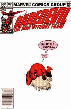 Daredevil # 187 by Frank Miller & Klaus Janson
