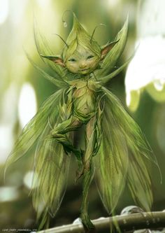 #Maleficent concept art: Leaf Fairy